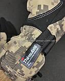 Мото перчатки SCOYCO камуфляж теплые, осень-зима, фото 2
