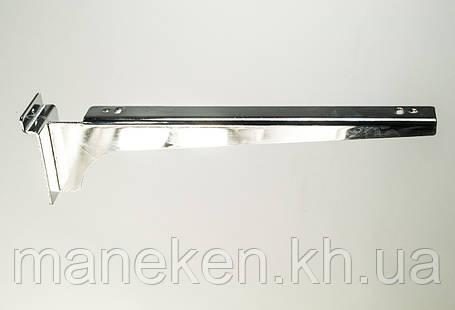 Полкодеожатель з кріпленням на економ-панель L30 Хром, фото 2