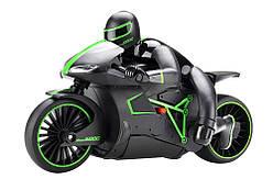 Мотоцикл радиоуправляемый 1:12 Crazon 333-MT01 (зеленый)