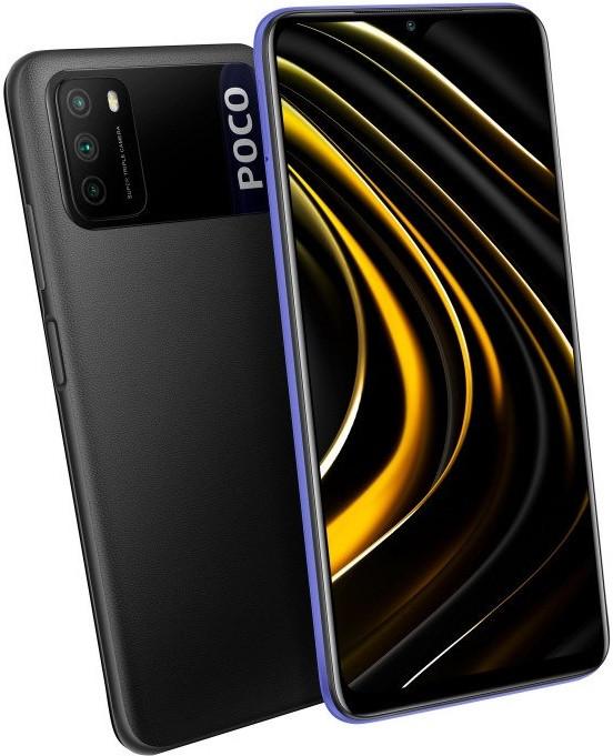 Смартфон Xiaomi Poco M3 4/128 ГБ. цвет черный.