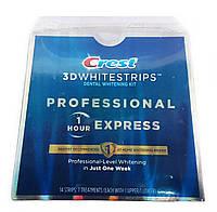Crest 3D Whitestrips Professional 1 Hour Express отбеливающие полоски (14 шт) 1 час Express