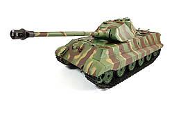 Танк на радиоуправлении 1:16 Heng Long King Tiger Porsche с пневмопушкой и и/к боем