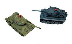 Танковый бой р/у 1:32 HuanQi 555 Tiger vs Т-34