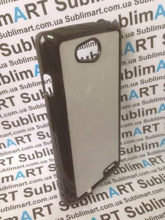 Чехол для 2D сублимации пластиковый на LG L90 черный, фото 2