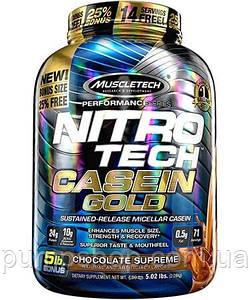 Казеиновый протеин MuscleTech Nitro-Tech Casein Gold 2270 г