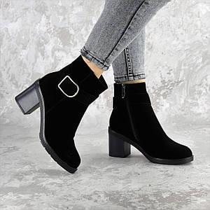 Ботильоны женские зимние Fashion Napolean 2377 37 размер 24 см Черный