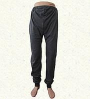 Спортивные мужские штаны с манжетом серые (Белорусский трикотаж)