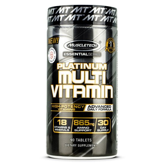 MuscleTech Platinum Multivitamin (90 таб.)
