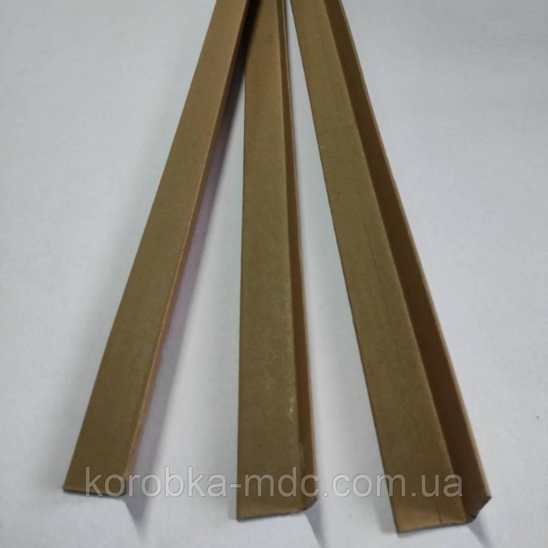 Уголок картонный защитный б/у 45х45х770мм 4мм