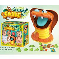 Детская развивающая настольная игра Kingso Toys Жадная змея HC314619