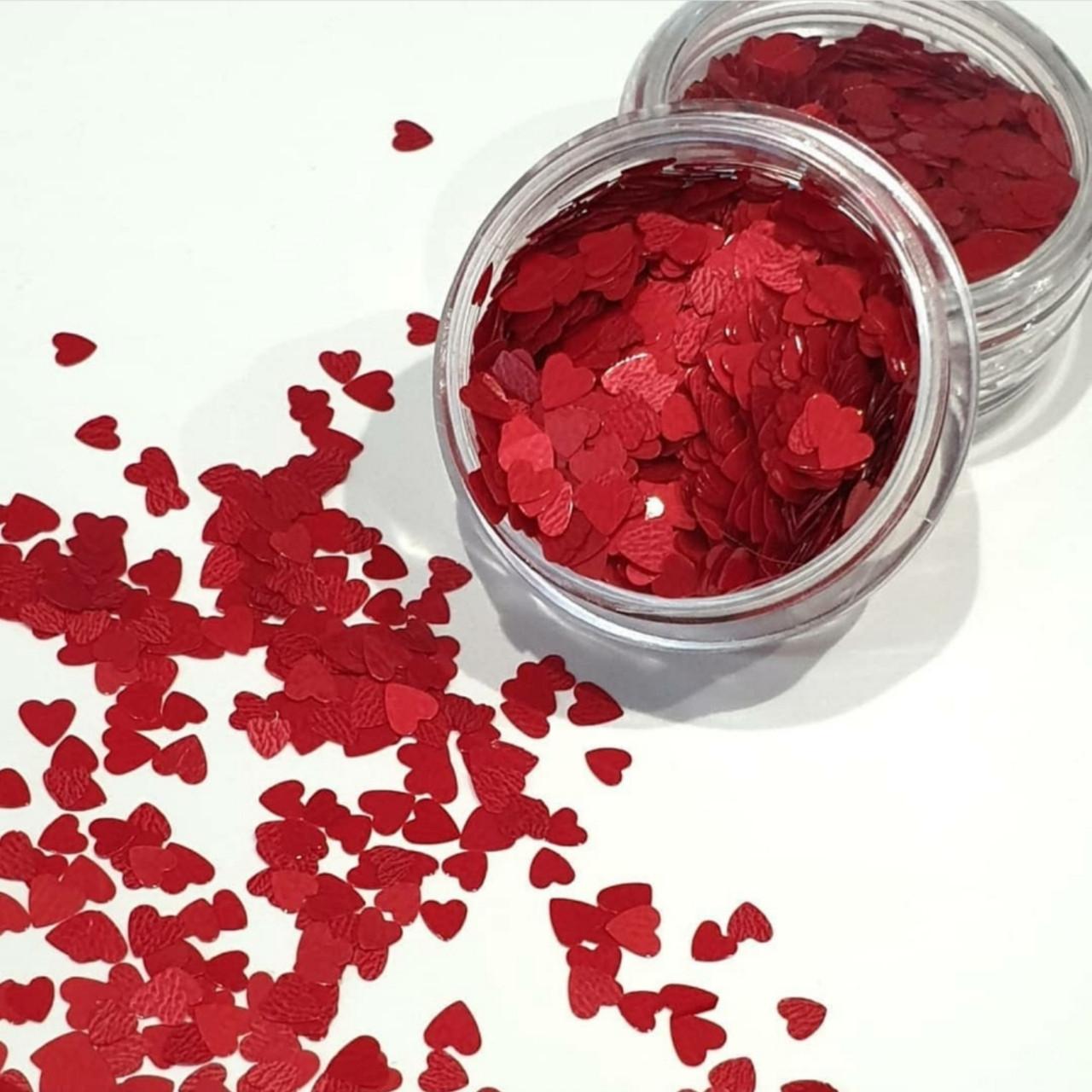Камифубики сердечки красные