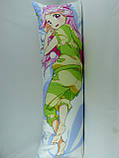 Подушка для обнимания 150 х 50 Симедзи (кукла с розовыми волосами), фото 2