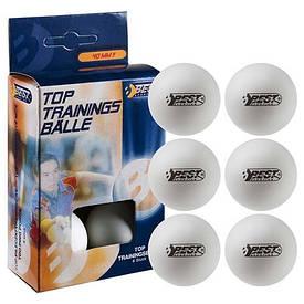 Кульки білі тенісні BEST (6шт) 23100