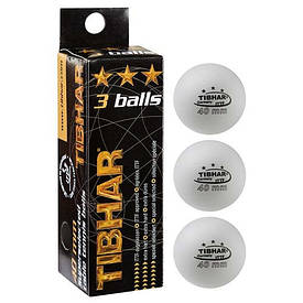 Шарики для настольного тенниса Tibhar (3 шт)