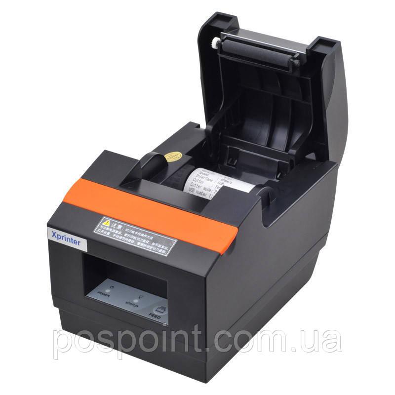 Чековый принтер обрез чека Xprinter XP-Q90EC ( C58E ) USB 58мм