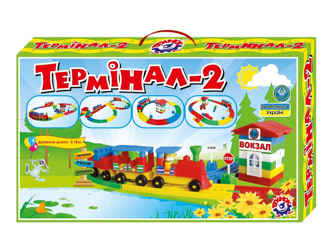 """Конструктор  """"Термінал 2 ТехноК"""" арт. 1240"""