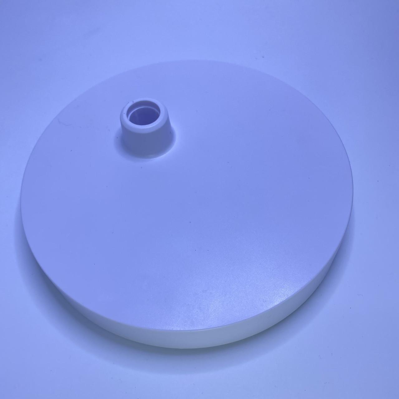 Подставка основа для настольной лампы, белая