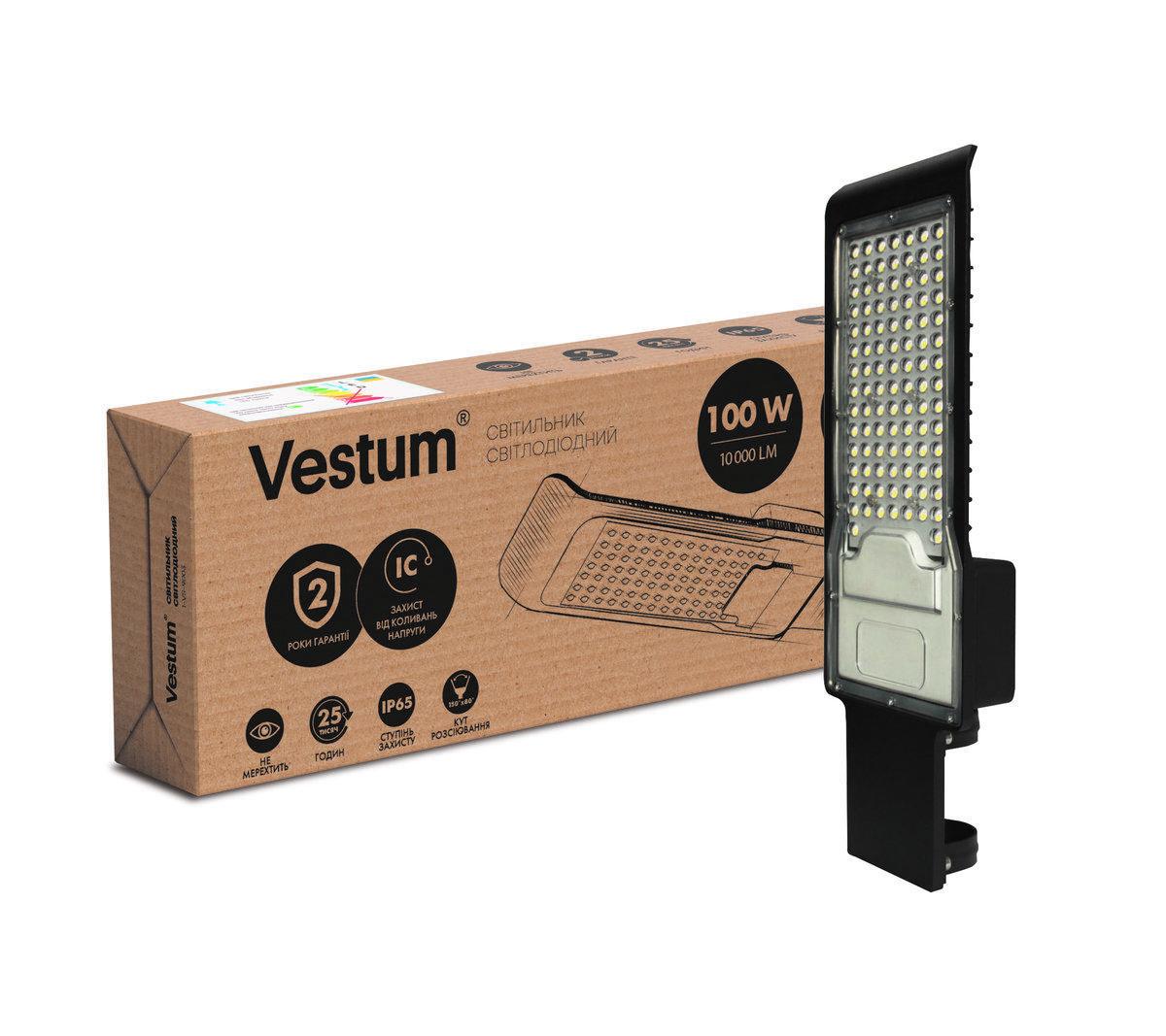 Светодиодный консольный светильник 100W 6500K 1-VS-9003 Vestum