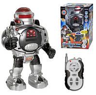 Радиоуправляемая Детская игрушка Робот р/у, стреляет дисками U/R