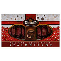 Рождественские конфеты Stühmer пралине из темного шоколада с  начинкой из миндального марципана 340 г Венгрия