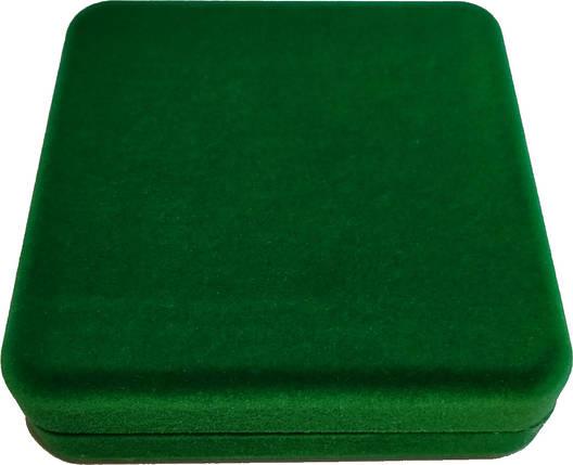 Футляр для монет НБУ 2 гривні золото зелений, фото 2