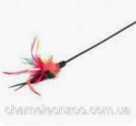 Иргушка палочка с перьями 50 см Trixie 4106