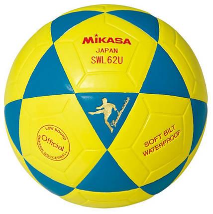 Футзальний м'яч Mikasa SWL62U-BY розмір №4, фото 2