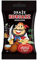 Корсар драже в шоколаде с кокосом 60г.