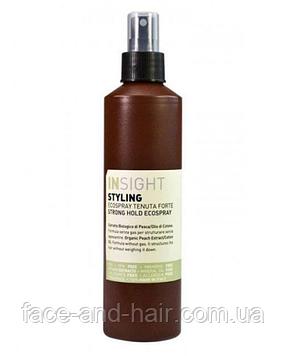 Лак - спрей для волос сильной фиксации Insight Styling Strong Hold Ecospray 250 мл
