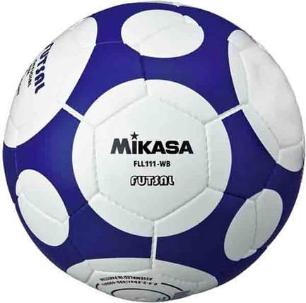 Футзальный мяч Mikasa FLL111-WB размер №4, фото 2