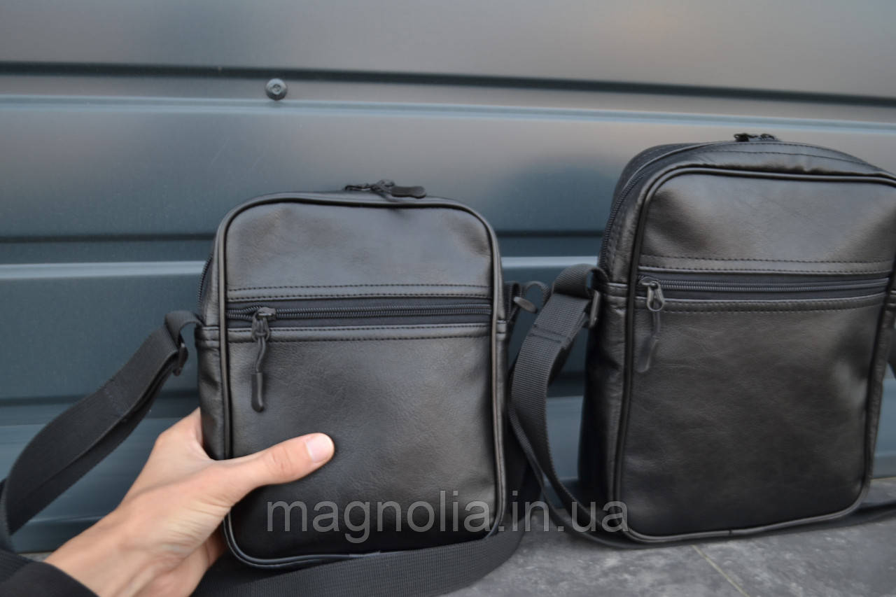 Мужская сумка мессенджер  ТОП ПРОДАЖ мужская сумка через плечо / Сумка чоловіча чорна / Барсетка