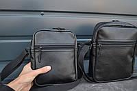 Мужская сумка мессенджер  ТОП ПРОДАЖ мужская сумка через плечо / Сумка чоловіча чорна / Барсетка, фото 1