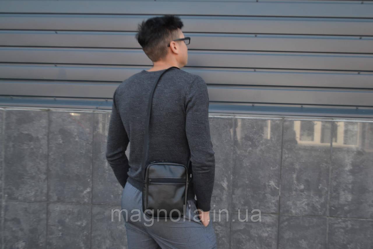 Мужская сумка мессенджер  НОВИНКА мужская сумка через плечо / Сумка чоловіча чорна / Барсетка