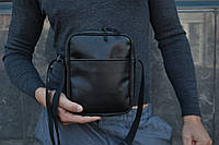 Мужская сумка мессенджер ХІТ ПРОДААЖ мужская сумка через плечо / Сумка чоловіча чорна / Барсетка, фото 1