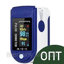 ОПТ ! Пульсоксиметр Fingertip Pulse Oximeter  Пульсометр на палец  Прибор для измерения кислорода в крови