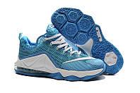 Баскетбольные кроссовки Nike Lebron 12 Low blue