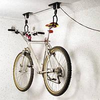 Крепление велосипеда к потолку, черное HS-044