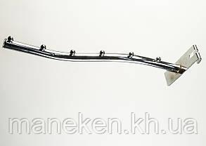 Флейта (кронштейн) з кріпленням на економ-панель 6 кульок Хром, фото 2