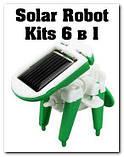 ОПТ !  Конструктор робот Robot Kits 6 в 1 на солнечной батарее, фото 2