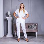 Женские медицинские костюмы Avicenna белый, 46, фото 6