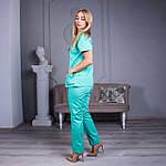 Женские медицинские костюмы Avicenna салатовый, 46, фото 3