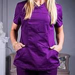 Женские медицинские костюмы Avicenna фиолетовый, 46, фото 5