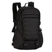 Рюкзак Туристический Тактический Штурмовой Военный PROTECTOR PLUS S416 на 30л Черный (S416-1)
