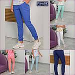 Женские медицинские штаны Асия голубые, 44, фото 3