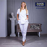 Женская медицинская блуза Avicenna белая, 46, фото 3