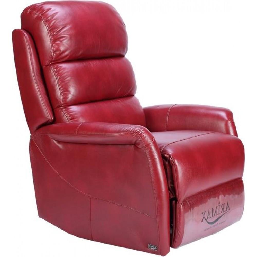 Кресло Arimax Donald бордовый (U0002192)