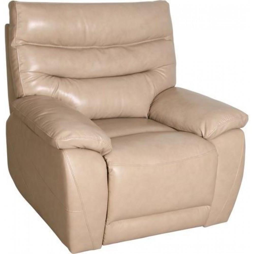 Кресло Arimax Griffin с электрореклайнером кожа бежевый 3607 (U0000033)