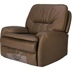 Кресло Arimax Swift с электрореклайнером ткань темно-оливковый DTP711-4 (U0004194)