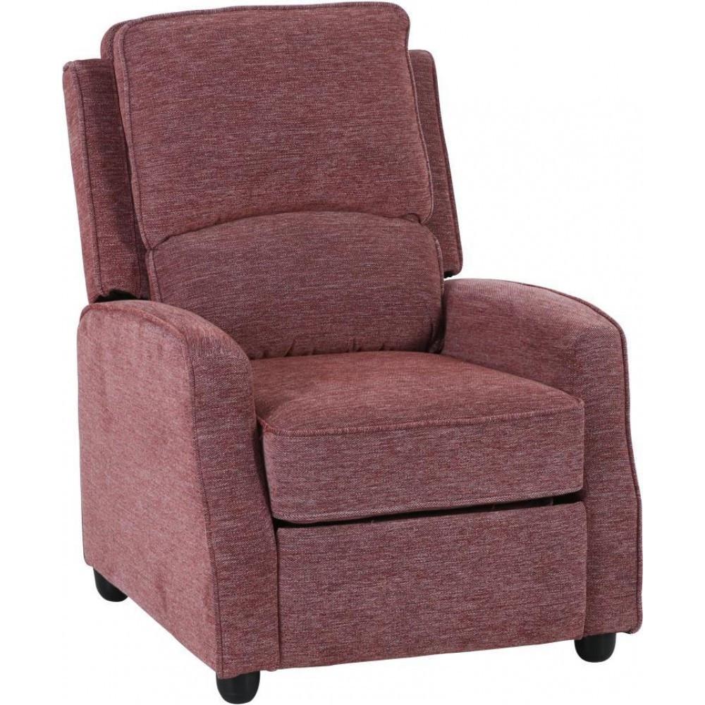 Кресло Doctor Max DM02001 откидное ткань ягодный (U0000290)