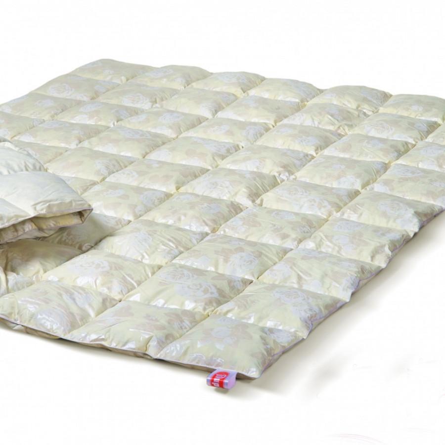 Одеяло Эко Пух - 140*205 пух 50% перо 50%